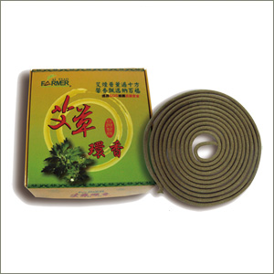 Mugwort Incense Coils 24hours(05-09)